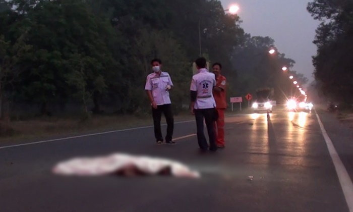 ตามไล่ล่า ตีนผีขับรถชนคนตาย ลากศพไปไกลกว่า 100 เมตร