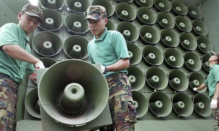 เกาหลีใต้ปิดโฆษณาชวนเชื่อไปเกาหลีเหนือ ลดตึงเครียดก่อนผู้นำพบกัน