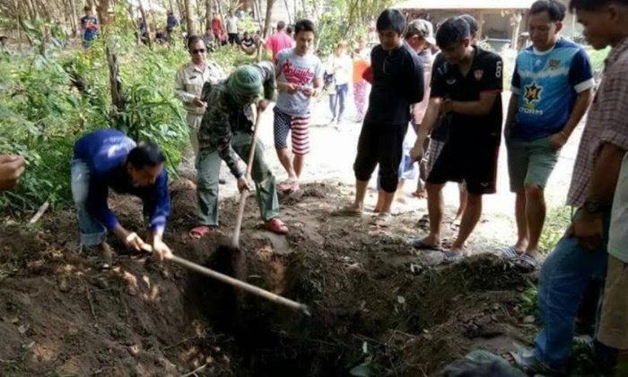 ฆ่าร่วมสายเลือด พี่ชายสังหารโหดน้องเมาฝังบ่อน้ำ ญาติไม่มีใครรู้