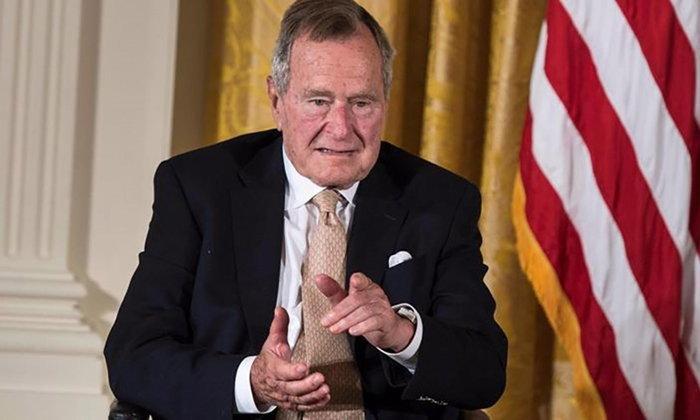 """อดีตประธานาธิบดี """"จอร์จ บุช"""" เข้าโรงพยาบาล หลังพบติดเชื้อในกระแสเลือด"""