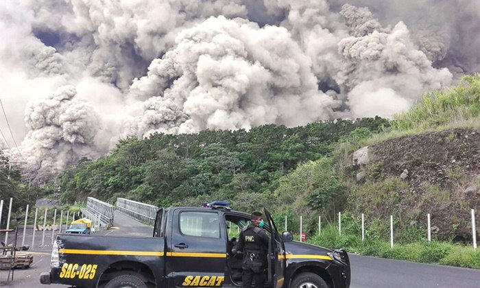 ภูเขาไฟกัวเตมาลาระเบิดอีกรอบ สั่งอพยพด่วน ยอดตายพุ่ง 72