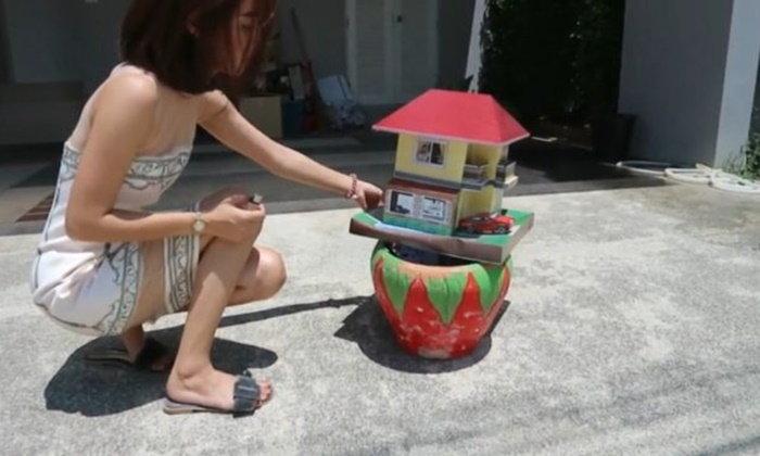 หนุ่มสาวนักธุรกิจเผาบ้านกงเต๊กประชดเสียเงิน 5 ล้าน ได้บ้านสุดห่วย