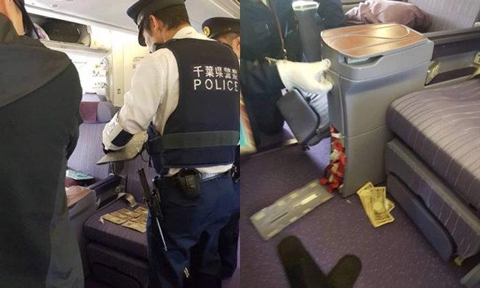 คนไทยนั่งเครื่องบินชั้น Business Class โดนคนจีนฉกเงิน 2 แสนบาท