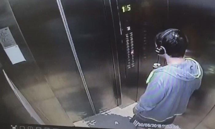 ภาพสุดท้ายหนุ่มโคราชฟังเพลง-ดื่มย้อมใจ ก่อนขึ้นลิฟท์โดดชั้น 10 ตาย