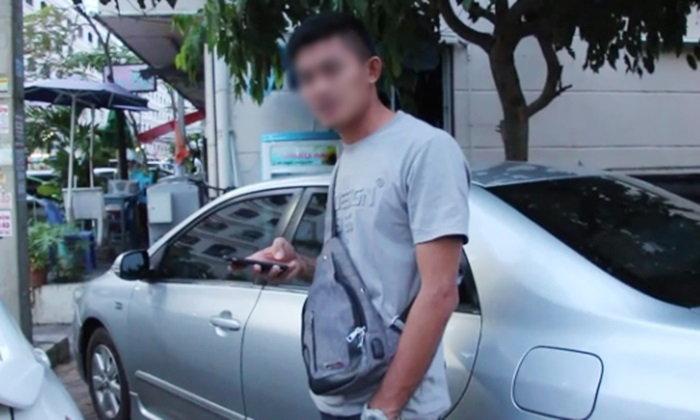 หนุ่มขับเก๋งหรูเมากร่าง อ้างเป็นตำรวจ-ข่มขู่ชาวบ้าน มอบตัวแล้ว