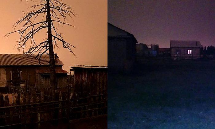 ชาวบ้านรัสเซียแตกตื่น อยู่ดีๆ กลางวันกลายเป็นกลางคืน มืด 3 ชั่วโมง อุณหภูมิลดฮวบ