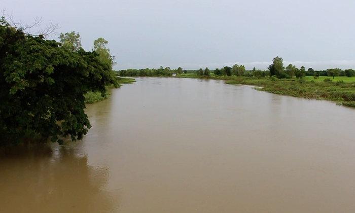 """ระดับ """"น้ำพาน"""" เพิ่มขึ้นอีก 10 เซนติเมตร ชาวบ้านติดลำน้ำเฝ้าระวัง!"""