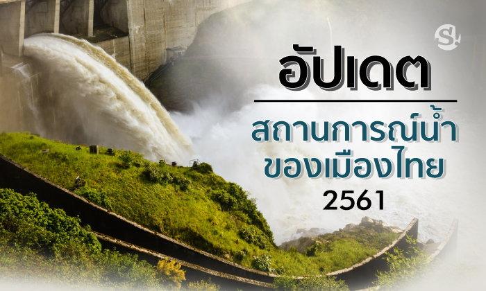 อัปเดตสถานการณ์น้ำของเมืองไทย 2561