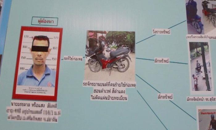 รวบสักที-หนุ่มตระเวนก่อเหตุชิงทรัพย์ ขับจักรยานยนต์กระชากกระเป๋า