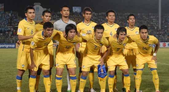 ฟุตบอลไทยยังรั้งอันดับ14ของเอเชีย