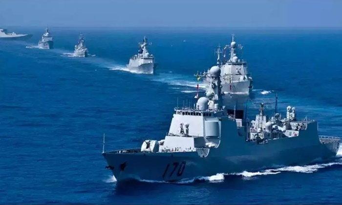 """เผยศักยภาพ """"กองเรือดำน้ำ"""" ในงานฉลองครบรอบ 70 ปี กองทัพเรือจีน"""