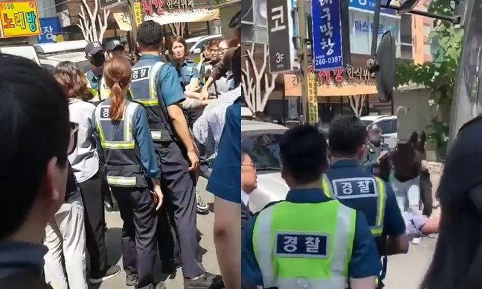 """แชร์ว่อน! ตำรวจเกาหลีบุกจับคนไทยถึงในผับ """"ผีน้อย"""" ห่วงใยกันเตือนอย่าเที่ยว"""
