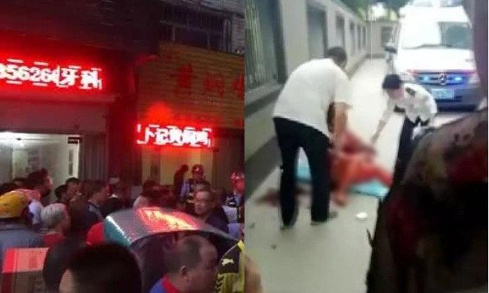 คาดเด็กข้างบ้านเสียงดังเกินไป หญิงจีนคว้ามีดแทงดับ 1 เจ็บอีก 2