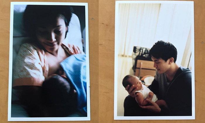 """""""หน่อย บุษกร"""" เปิดภาพเมื่อ 11 ปีก่อน วันที่คลอด """"น้องคุน"""" แม่ทำได้ทุกอย่างเพื่อลูก"""