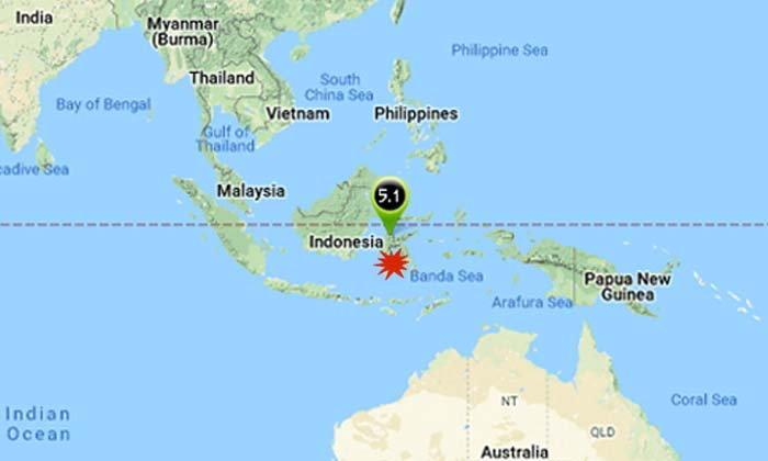 แผ่นดินไหวอินโดนีเซีย ขนาด 7.5 ชายฝั่งเกาะสุลาเวสี เตือนสึนามิ