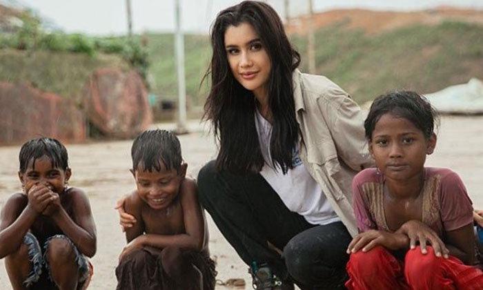 """ทำดีแต่โดนแซะ """"ปู ไปรยา""""  ถูกถามทำไมช่วยแต่เด็กต่างชาติ ไม่ช่วยเด็กไทย"""