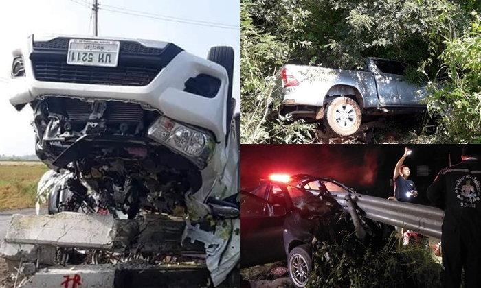"""ย้อน 3 อุบัติเหตุรถยนต์ """"สุดแคล้วคลาด"""" รอดได้เหมือนโชคช่วย บอกเลยงวดนี้มาแรง"""