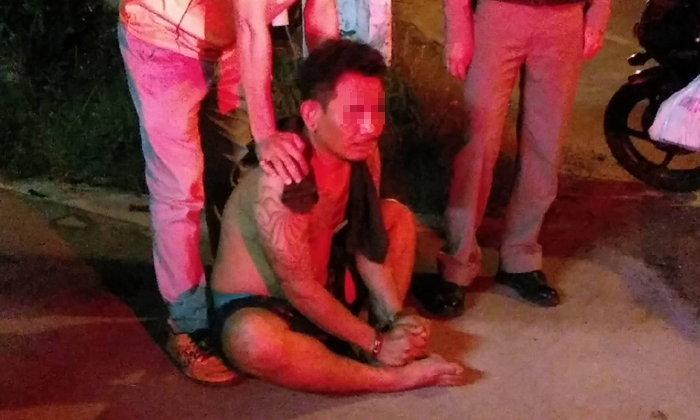 ชาวบ้านล้อมจับหนุ่มเสพไอซ์คลั่ง ถือไขควงตามหาเมีย เผยเสพเพื่อแรงบันดาลใจ