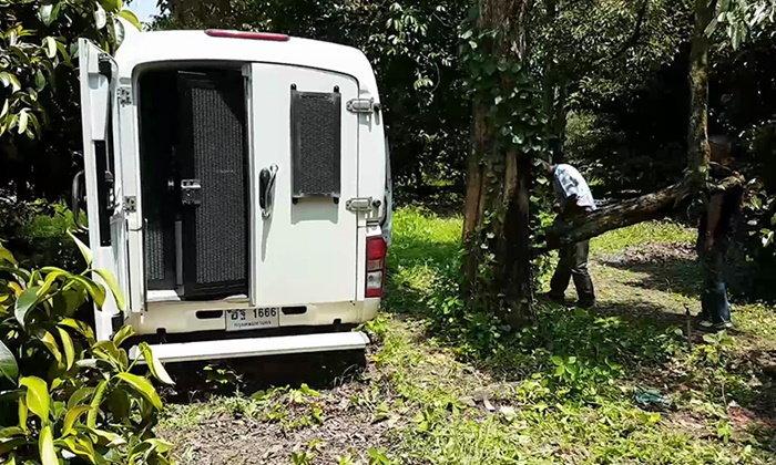 ปิดล้อมล่า 3 ผู้ต้องหาแหกคุก พบร่องรอยทุบโซ่ตรวน ระดมลุยหาต่อตั้งแต่เช้า