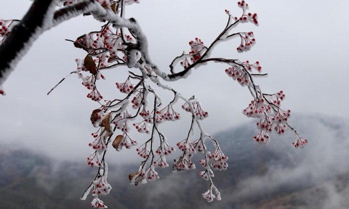 จีนหนาวมาแล้ว หลายพื้นที่หิมะตก-อุณหภูมิลด