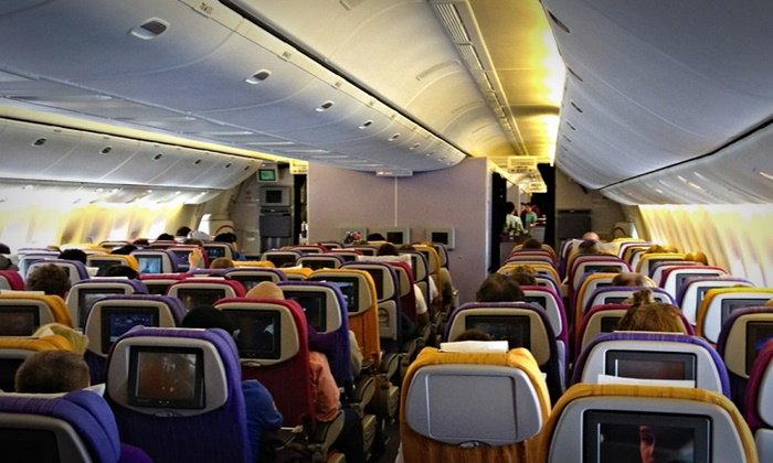 """ฟังจากมุม """"สามีภรรยา"""" ผู้ยอมสละที่นั่งการบินไทย จบดราม่าดีเลย์ 2 ชั่วโมง"""