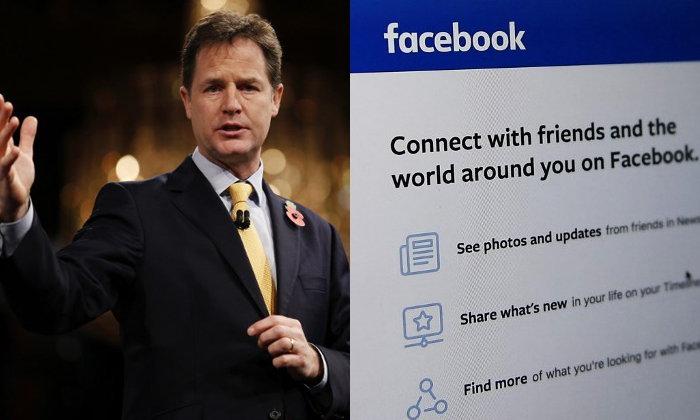 """เฟซบุ๊กดึง """"อดีตรองนายกฯอังกฤษ"""" ร่วมงาน หวังแก้เกม หลังอียูจ้องรีดภาษี"""