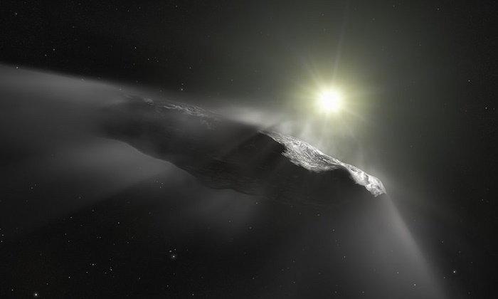 """นักวิทย์ฯ ยังฉงน """"โอมูอามูอา"""" ไม่ใช่ดาวหาง แต่อาจเป็นยานจากดาวอื่น"""