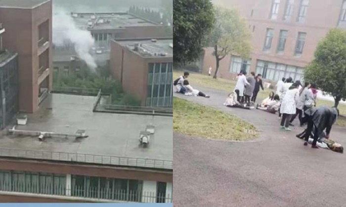 ห้องแล็บระทึก ระเบิดบึ้มกลางมหาวิทยาลัย ขณะครู-นักศึกษาทำการทดลอง