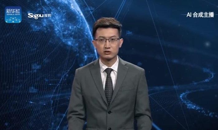 """สุดล้ำ สำนักข่าวซินหัวเปิดตัวผู้ประกาศข่าว AI """"คน"""" แรกของโลก"""