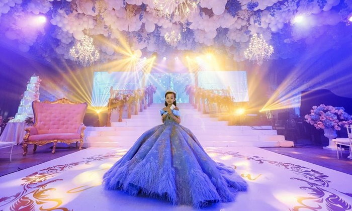 ชาวโลกมองตาค้าง อลังการฉลองวันเกิด 7 ขวบ ลูกสาวมหาเศรษฐีฟิลิปปินส์