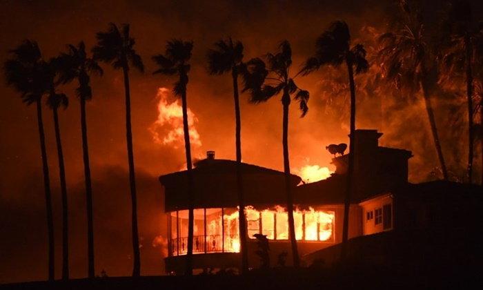 ซุปตาร์ฮอลลิวูดหนีภัย ไฟป่าเผาวอดวายย่านมาลิบู สั่งอพยพคนนับแสน