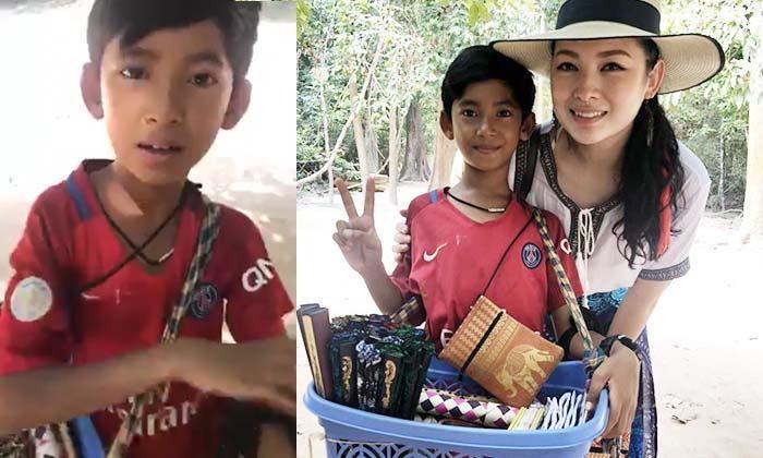 ชาวเน็ตตะลึง! คลิปเด็กชายกัมพูชา พูดได้มากถึง 15 ภาษา