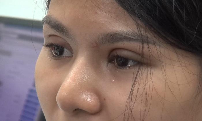 สาวสวยปาดน้ำตา รถเก๋งถูกกรีดทั้งคัน โดนอยู่คนเดียวทั้งที่ไม่เคยมีเรื่องกับใคร