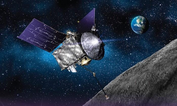 ยานอวกาศนาซาเยือนดาวเคราะห์น้อยโบราณ คาดอาจพุ่งชนโลกในอนาคต