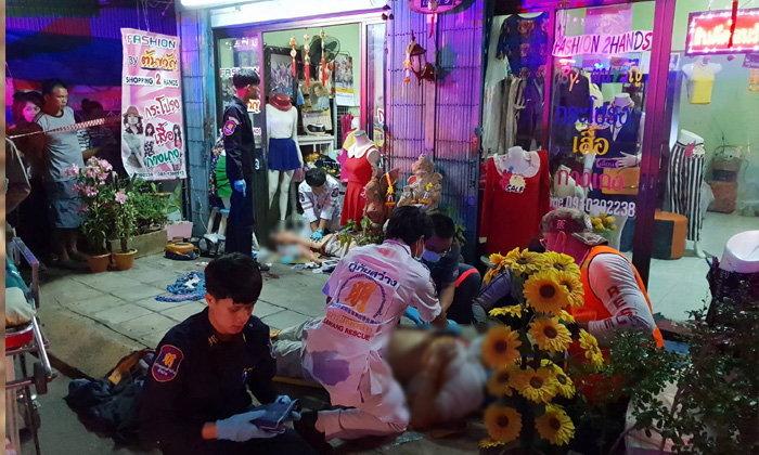 เมียหลวงแค้นสุมอก ลั่นไกสังหารเมียน้อยดับ-ผัวสาหัส นั่งกินเบียร์รอตำรวจมาจับ