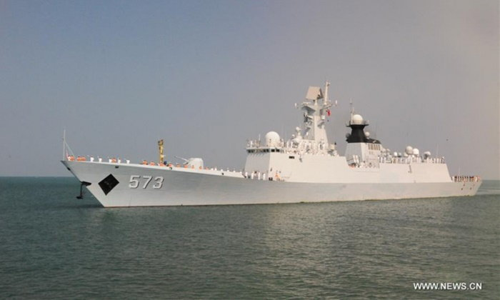 กัมพูชาเปิดบ้านรับ 3 เรือรบจีนเทียบท่า กระชับสัมพันธ์-ร่วมมือทางทหาร