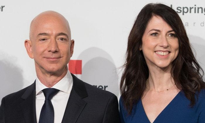 """""""เจฟฟ์ เบโซส"""" อภิมหาเศรษฐีรวยสุดในโลก ประกาศหย่าภรรยาหลังครองคู่มา 25 ปี"""