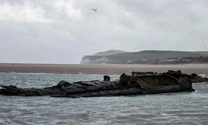 ฝรั่งเศสพบซากเรืออู-โบ๊ท สมัยสงครามโลก เกยตื้นตอนเหนือของประเทศ