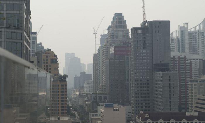 """คุณภาพอากาศ 13 ม.ค. """"บางขุนเทียน-ดินแดง"""" อ่วม PM 2.5 เกินมาตรฐานสูงสุด"""
