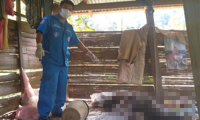 ผงะ! หนุ่มหายตัวนานกว่าสามวัน สุดท้ายพบเป็นศพขึ้นอืดกลางกระท่อม