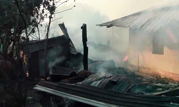 เพลิงไหม้บ้านพระราชทานจากในหลวง รัชกาลที่ 9 ที่ จ.ราชบุรี