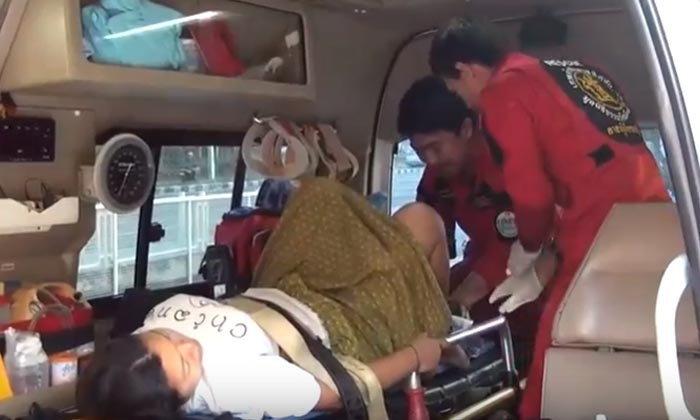 ลุ้นเลขเด็ด! ทะเบียนรถกู้ภัย ช่วยทำคลอดสาวกะเหรี่ยงท้องแรก