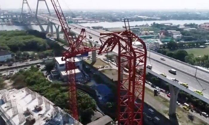 เขตยานนาวาสั่งรื้อเครนถล่ม 2 ตัว สภาฯ ได้ชื่อวิศวกรคุมงานก่อสร้างแล้ว
