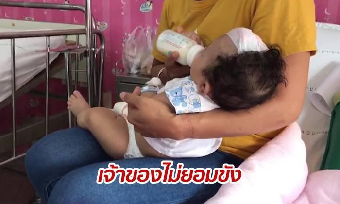 ลิงบุกกัดเด็กน้อยวัย 2 ขวบถึงในบ้าน แผลเหวอะลึกถึงกะโหลก!