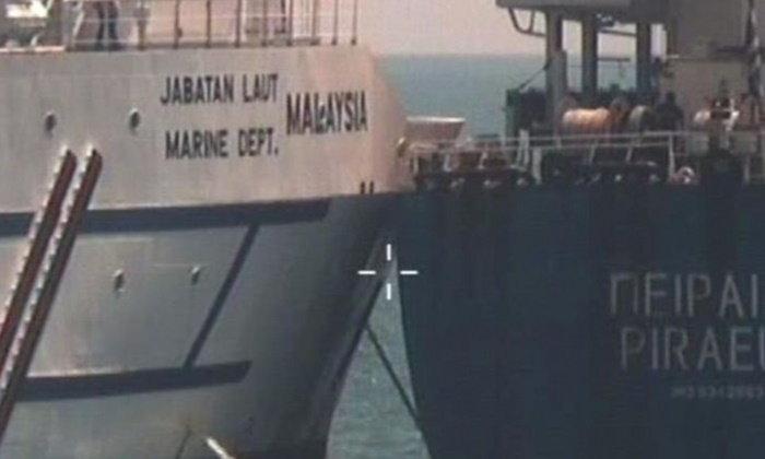เรือชนกันในน่านน้ำพิพาท กระพือความตึงเครียดให้มาเลย์-สิงคโปร์