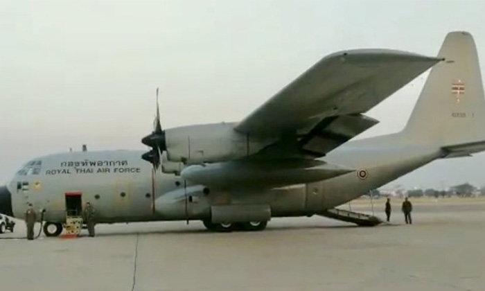 """คอหวยต้องจด! เปิดเลขเด็ดจากข่าวเครื่องบิน C130 คณะ """"ลุงตู่"""" ขัดข้อง"""