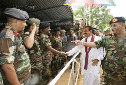 ผู้นำศรีลังกาขึ้นเงินเดือนทหารทั้งกองทัพ