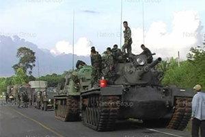 เขมรส่งกำลังทหารประชิดชายแดนไทย 4 พันนาย