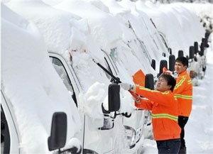 พายุหิมะในจีนทำให้มีผู้เสียชีวิตแล้ว 38 คน