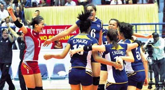 ข่าว วอลเลย์สาวไทยตามล่าแชมป์ซีเกมส์